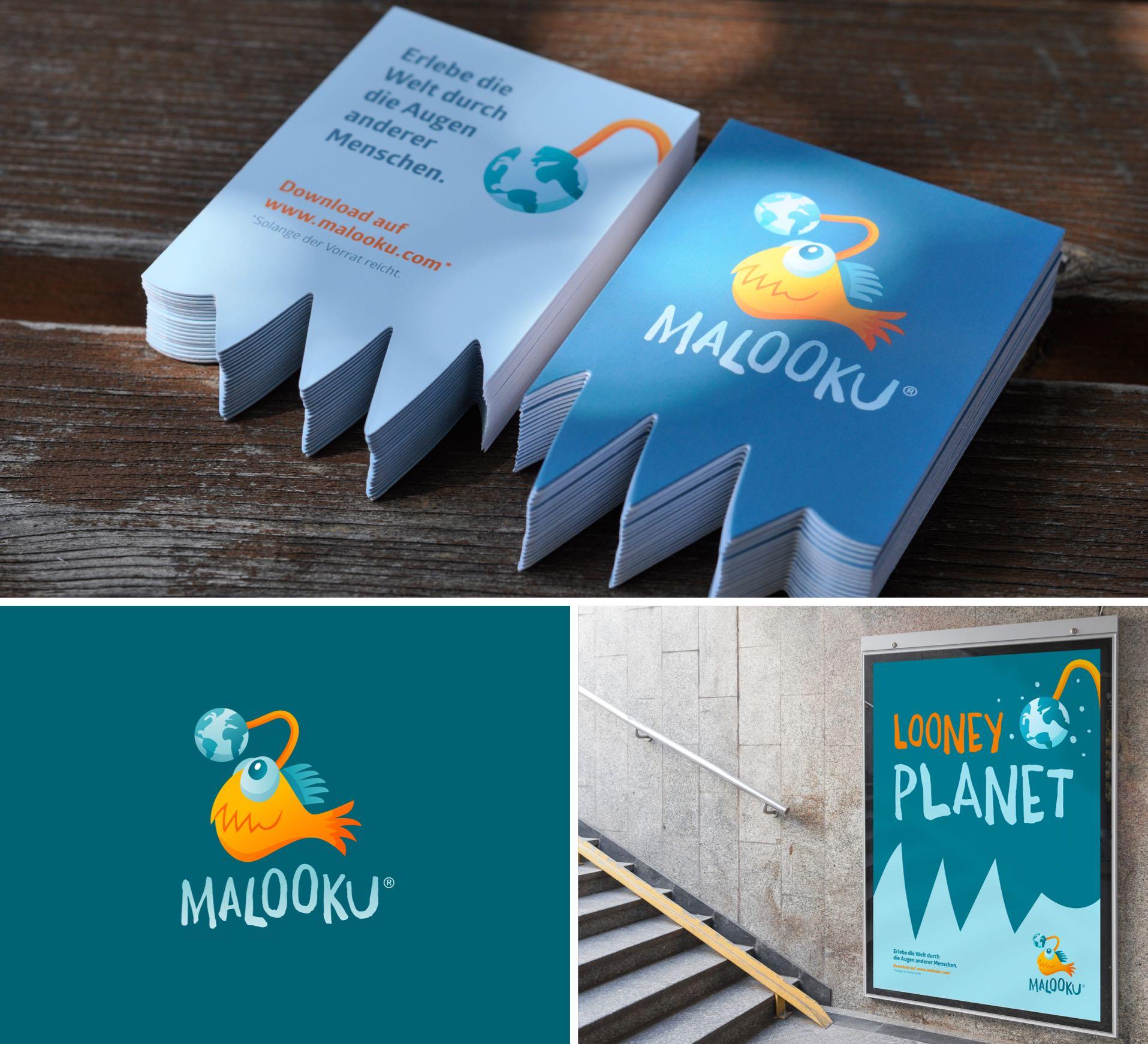 App Branding Logo Design Malooku Ferras Agency