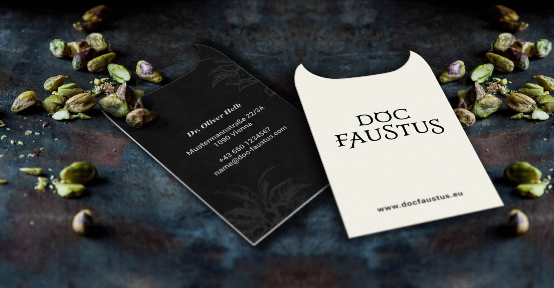 Branding Corporate Design Meal Replacement Doc Faustus